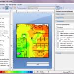 Отображение информации об уровне сигнала в ПО TamoGraph