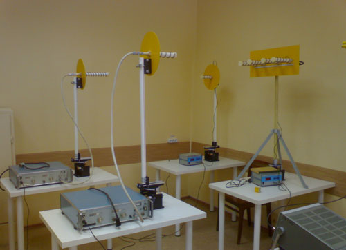 Комплект учебного оборудования по изучению антенно-фидерных устройств