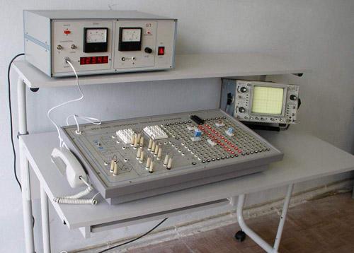 Установка по изучению электронных телефонных аппаратов