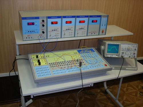 Установка по изучению теории линейных электрических цепей