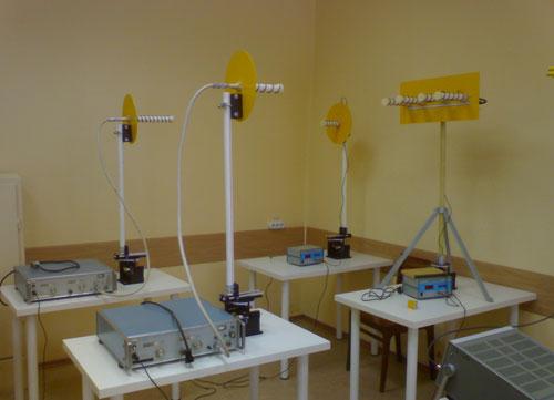Установка по изучению распространения радиоволн